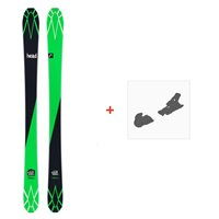 Ski Head Ethan Too SW Black 2017 + Fixation de ski
