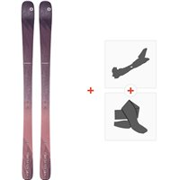 Ski Blizzard Black Pearl 82 Flat 2020 + Fixations de ski randonnée + Peaux8A913200.002