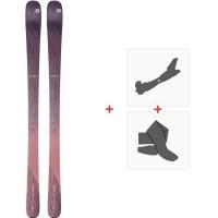 Ski Blizzard Black Pearl 82 Flat 2020 + Tourenbindungen + Felle8A913200.002