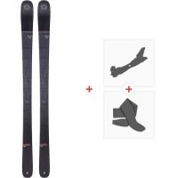 Ski Blizzard Brahma 88 Flat 2020 + Fixations de ski randonnée + Peaux8A909600.001