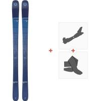 Ski Blizzard Bushwacker Flat 2020 + Fixations de ski randonnée + Peaux8A910100.001