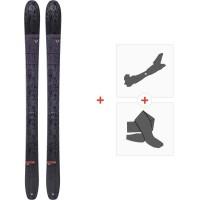 Ski Blizzard Cochise Team Flat 2020 + Fixations de ski randonnée + Peaux8A910200.001