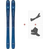 Ski Blizzard Rustler Team Flat 2020 + Tourenbindungen + Felle8A911400.001
