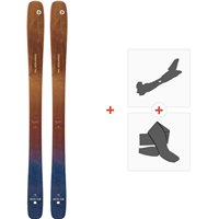 Ski Blizzard Sheeva Team Flat 2020 + Fixations de ski randonnée + Peaux8A911600.001