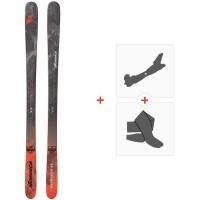 Ski Nordica Enforcer 88 Flat 2020 + Fixations de ski randonnée + Peaux0A912000.001
