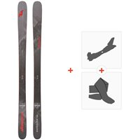 Ski Nordica Enforcer 93 Flat 2020 + Fixations de ski randonnée + Peaux0A911800.001