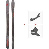 Ski Nordica Enforcer 93 Flat 2020 + Tourenbindungen + Felle0A911800.001