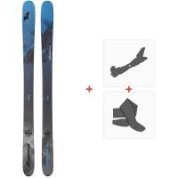 Ski Nordica Enforcer Free 104 Flat 2020 + Fixations de ski randonnée + Peaux0A911400.001