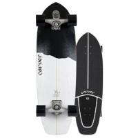 """Surf Skate Carver Black Tip 32.5"""" 2020 - Complete"""