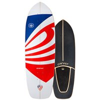 """Surf Skate Carver Usa Booster 30.75"""" 2020 - Deck Only"""