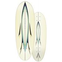 """Surf Skate Carver Nomad 30.25"""" 2020 - Deck Only"""