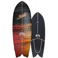 """Surf Skate Carver Lost Psycho Killer 29"""" 2020 - Deck Only"""
