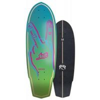 """Surf Skate Carver Lost Plank 31"""" 2020 - Deck Only"""