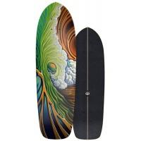 """Surf Skate Carver Greenroom 33.75"""" 2020 - Deck Only"""
