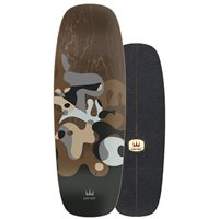 """Surf Skate Carver Gray Ray 27.5"""" 2020 - Deck Only"""