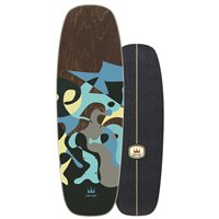 "Surf Skate Carver Blue Ray 30"" 2020 - Deck Only"