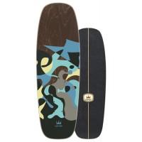 "Surf Skate Carver Blue Ray 30"" 2020 - Deck Only"