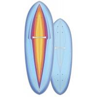 """Surf Skate Carver Blue Haze 31"""" 2020 - Deck Only"""