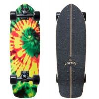 "Surf Skate Carver Tye Stick 25.5"" 2020 - Complete"