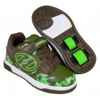Heelys Chaussures Plus X2 Dark Green/Camo 2020