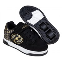 Heelys Chaussures X2 Plus X2 Lighted Black/Gold/Logo 2020