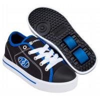 Heelys Chaussures Classic X2 Black/White/Blue 2020