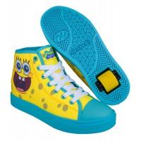 Heelys Chaussures Hustle SpongeBob Yellow/Aqua 2020