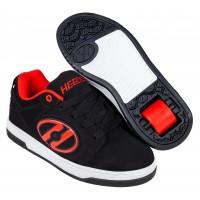 Heelys Chaussures Voyager NuBuck Black/Red 2020