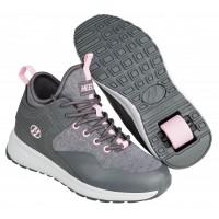 Heelys Chaussures Piper Charcoal/Light Pink 2020