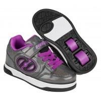 Heelys Chaussures X2 Plus X2 Lighted Black Sparkle/Purple 2020