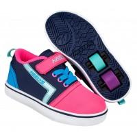 Heelys Chaussures X2 Gr8 Pro X2 Navy/Pink/Cyan 2020