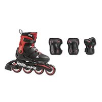 Rollerblade Combo Black/Red 2020