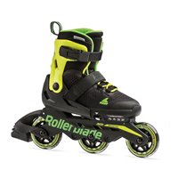 Rollerblade Microblade 3WD Black/Lime 2020