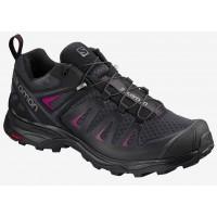 Salomon Shoes X Ultra 3 W Graphite/Black/Beet Red 2020