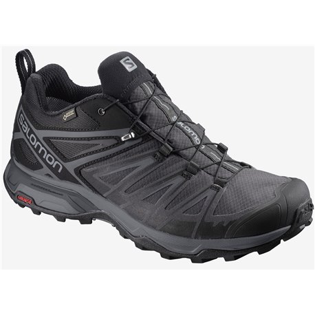 Salomon Shoes X Ultra 3 Wide GTX Black/Magnet/Quiet Shade 2020
