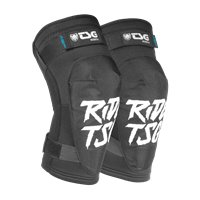 TSG Kneeguard Scout A Ripped Black 2020