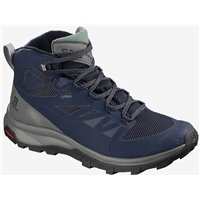 Salomon Shoes Outline Mid GTX Medieval B/Castor 2020