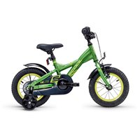 Scool Xxlite steel 12 Green Yellow Vélos Complets 2020