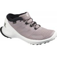 Salomon Shoes Sense Flow GTX W Quail/Wh/Cherry T 2020