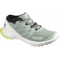 Salomon Shoes Sense Flow GTX Green Mili/Wh/Safet 2020