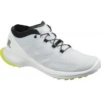 Salomon Shoes Sense Flow Illusion Blue/White/Safety Yellow 2020