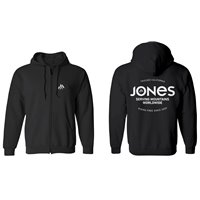 Jones Hoodie Z. Riding Free Black 2021