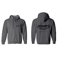 Jones Hoodie Z. Riding Free Grey 2021