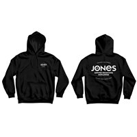 Jones Hoodie Riding Free Black 2021