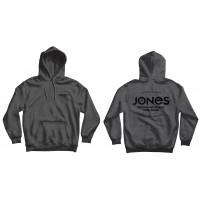Jones Hoodie Riding Free Grey 2021