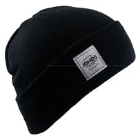 Jones Beanie Baker Black 1Size 2021