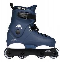 Razors Skate Genesys Junior 8 wheels US 3-6 8W navy/white 2020
