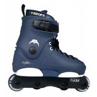 Razors Skate Genesys Junior 4 wheels US 3-6 4W navy/white 2020