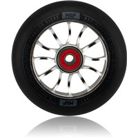 Madd Gear MGP Wheel 110mm Shredder Silver Black 2020