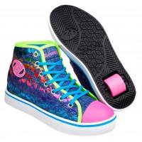Heelys Chaussures Veloz Denim/Glitter/Rainbow 2020
